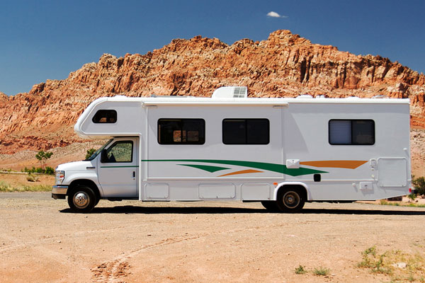 a recreational vehicle